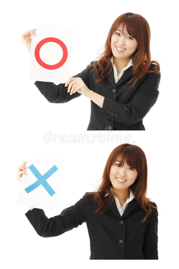 Download Yes or no stock photo. Image of chinese, gesture, accept - 20248796