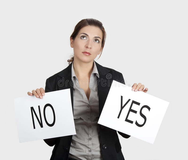 Download Yes Or No Choice Stock Photography - Image: 18764592