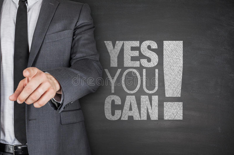 Yes you can on blackboard stock images