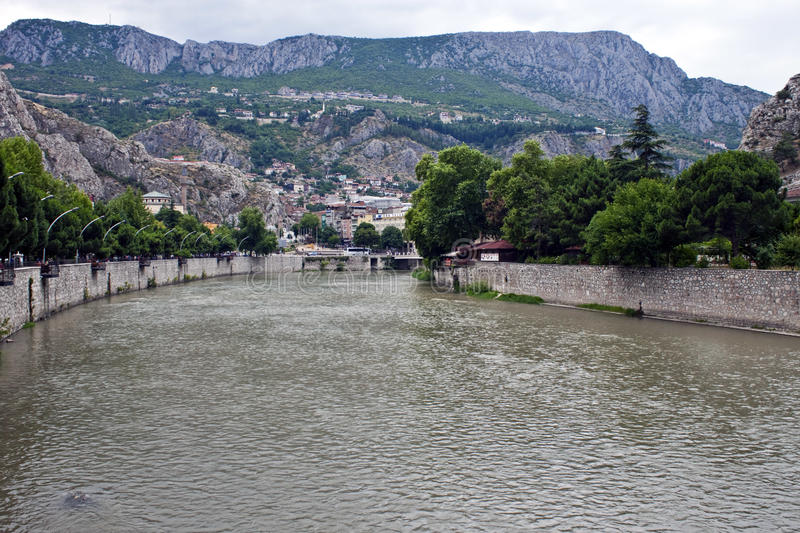 Download Yesilirmak river in Amasya stock photo. Image of tourist - 22252670