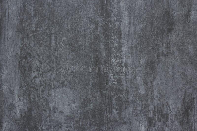 Yeso concreto gris de los papeles pintados de Von fotografía de archivo