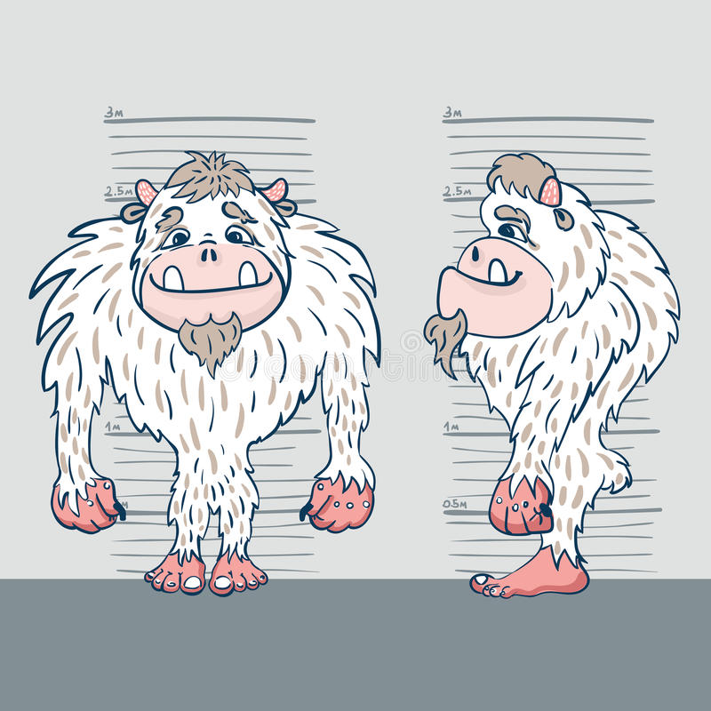 Yeti 2 stock illustratie