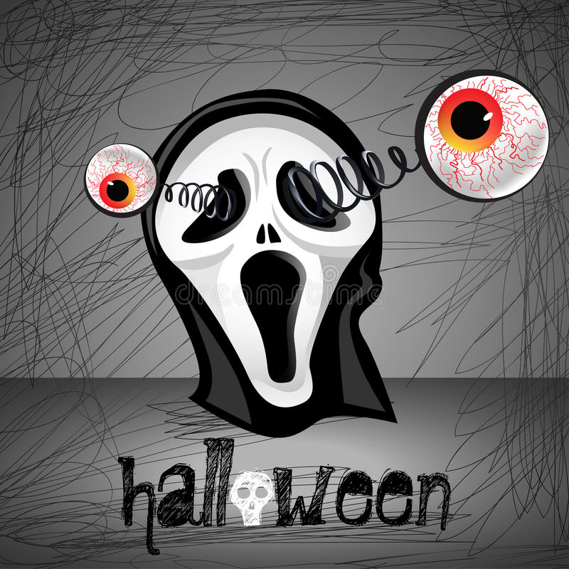 Yeux de Halloween illustration libre de droits