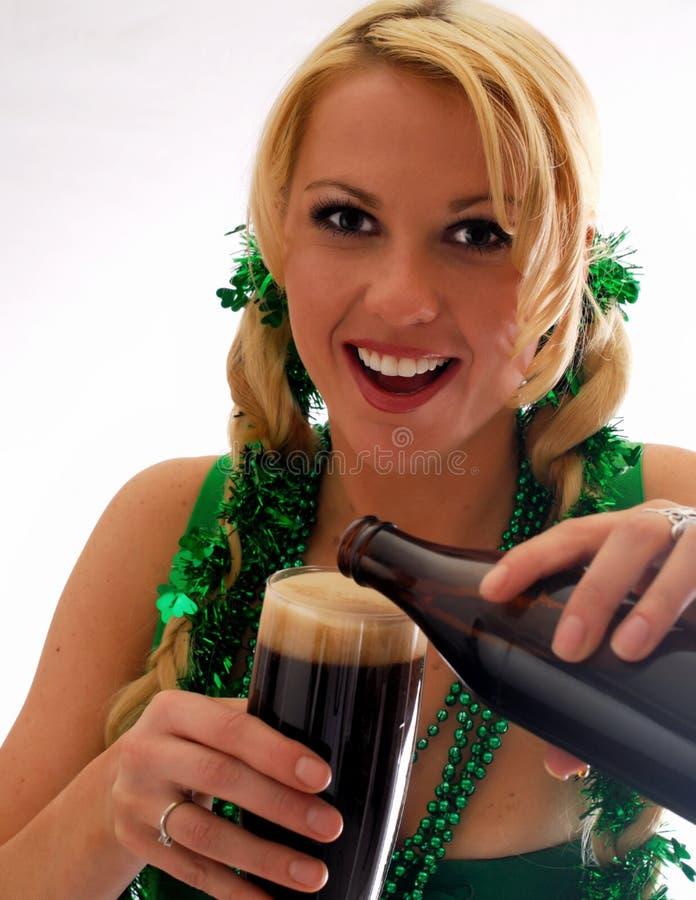 Yeux irlandais ! photo stock