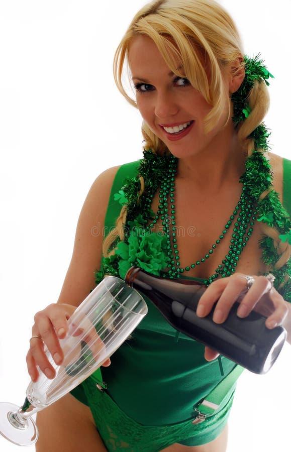 Yeux irlandais ! image libre de droits