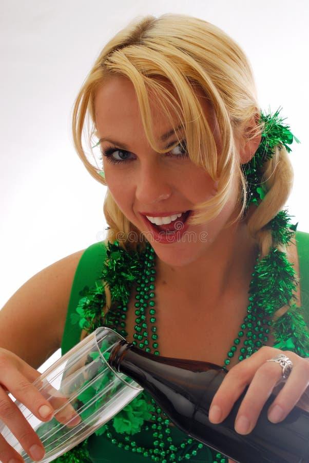 Yeux irlandais ! images stock