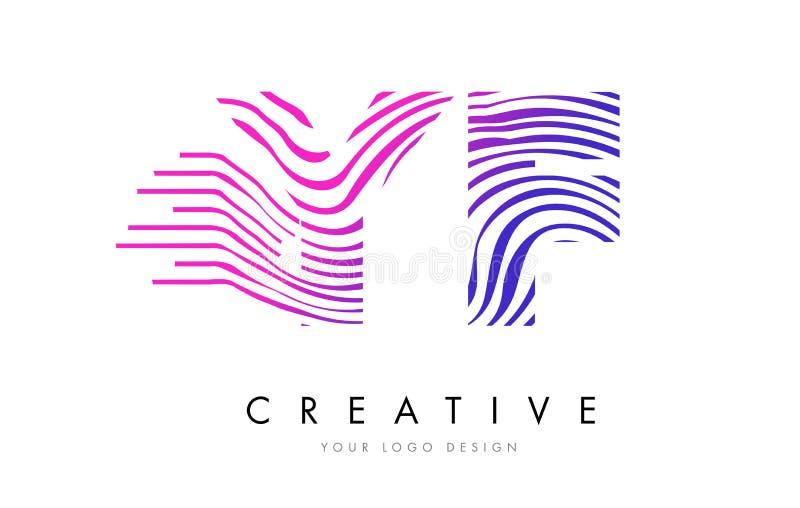 �zf���%���y`m���_yf y f斑马线信件与洋红色颜色的商标设计.
