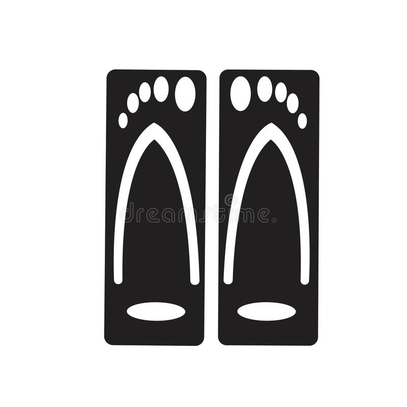 Yflip拍击声和拖鞋 皇族释放例证