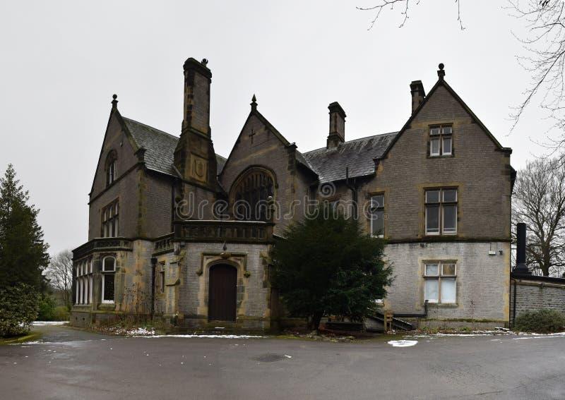 YHA Castleton Losehill Hall, Peak District National Park, UK. Photo taken on Dec 8th, 2017 stock photos