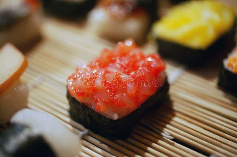 Yi Douzan sushi. Janpan Cuisine in Tainan Taiwan royalty free stock photo