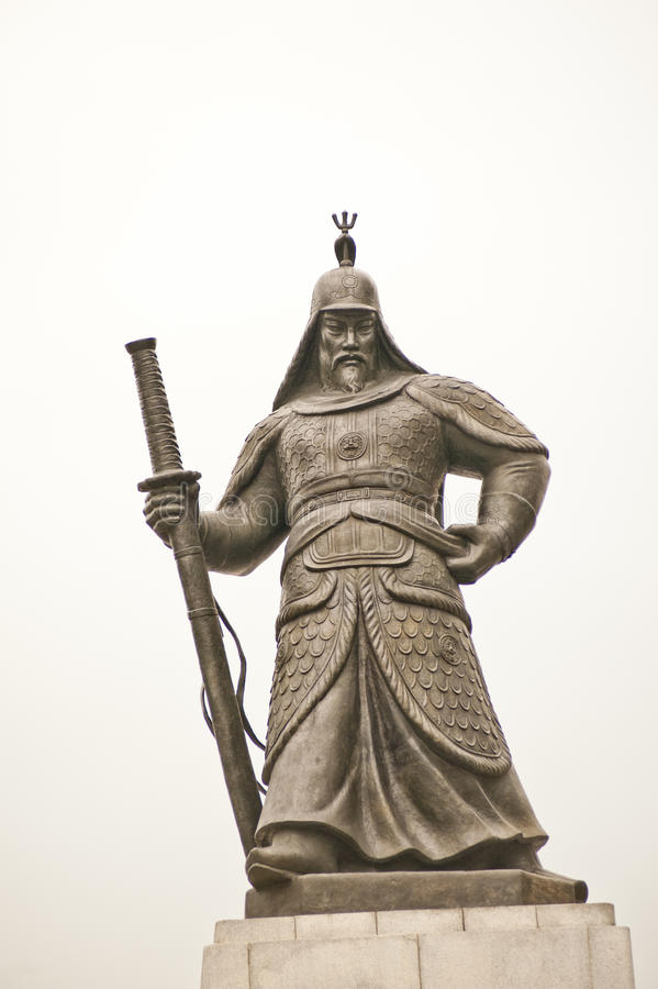 Yi Sun-shin royalty free stock images