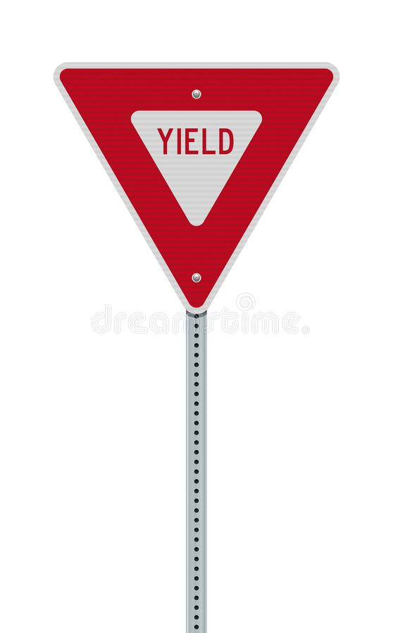 Free Yield Road Sign Stock Photography - 175834742