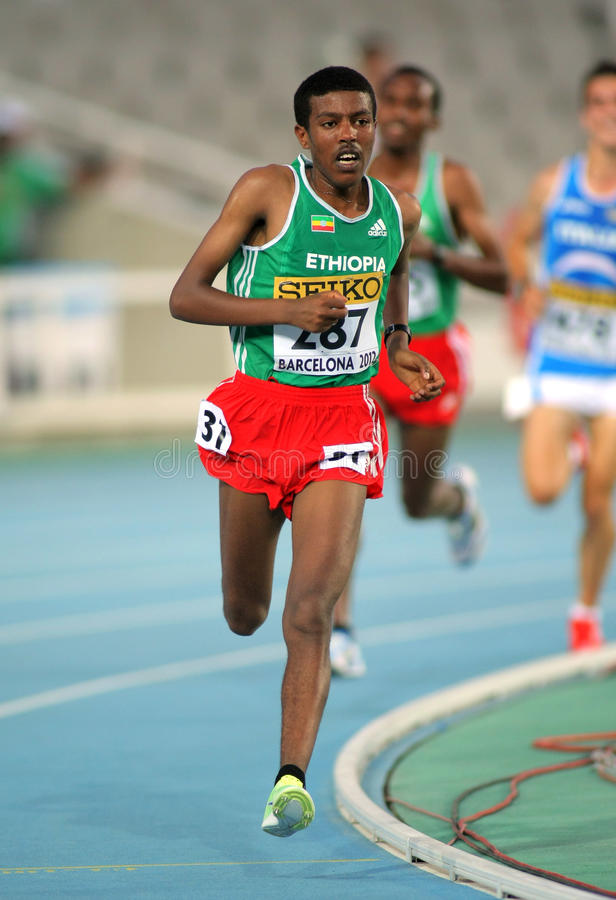 Download Yigrem Demelash Of Ethiopia Editorial Photo - Image of runner, distance: 25845836