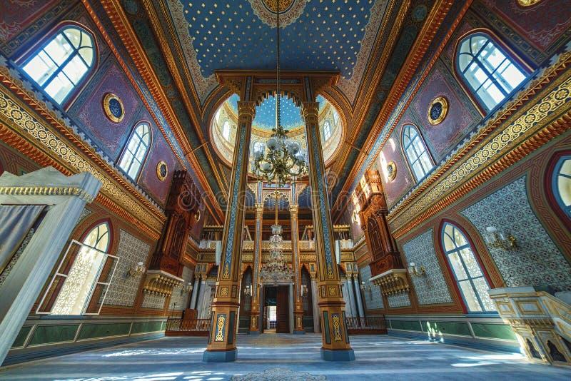 Yildiz Hamidiye Mosque construiu por Sultan Abdulhamid II imagem de stock royalty free