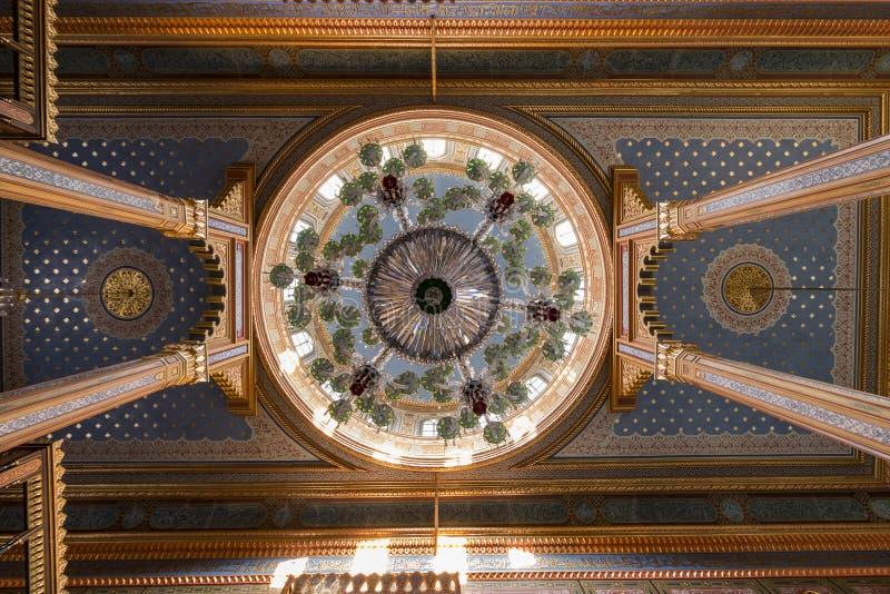 Yildiz Hamidiye Mosque construiu Sultão, oriental imagens de stock royalty free