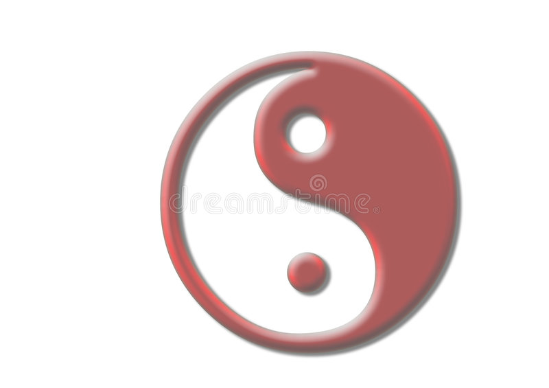 Yin & Yang foto de stock royalty free