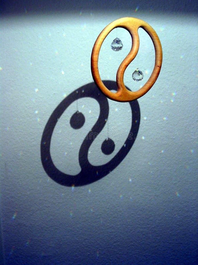 Yin e Yang immagini stock libere da diritti