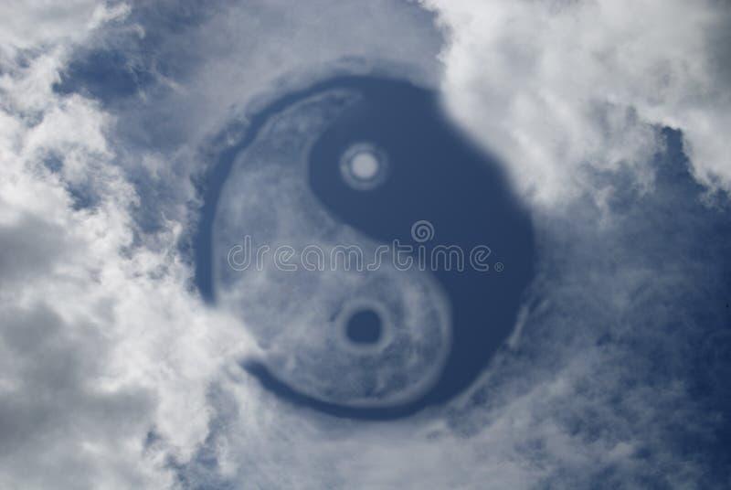 Yin et Yang photos libres de droits