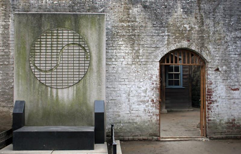 Yin und Yang-Symbol stockbild