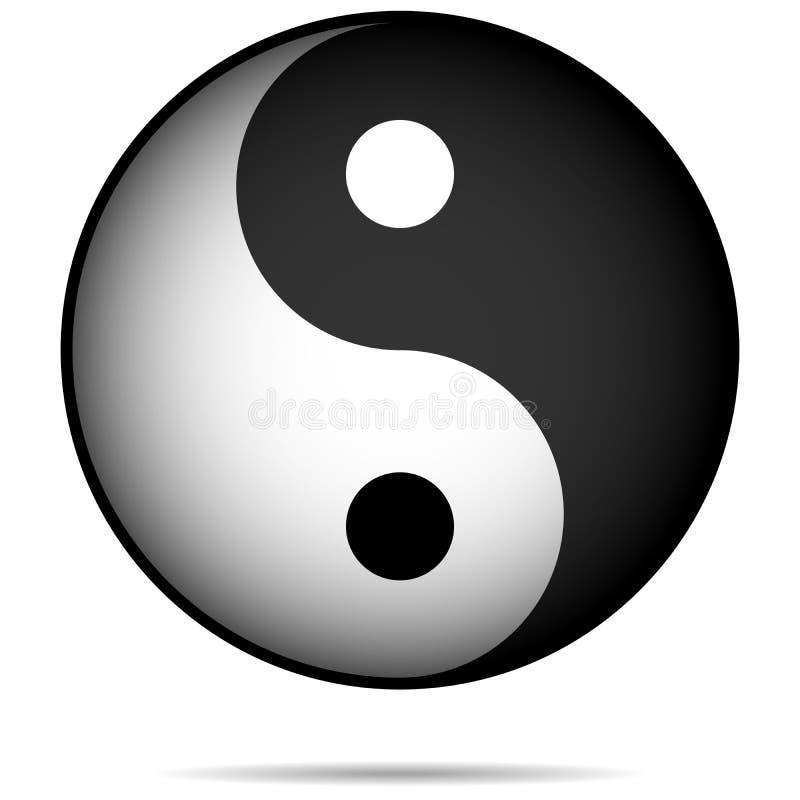 Yin-Yan stock abbildung