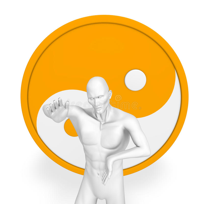 Download Yin Yang stock illustration. Image of yang, object, female - 11957485