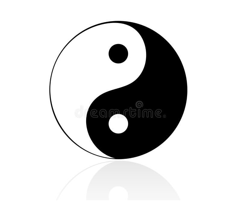 Yin yang royalty illustrazione gratis