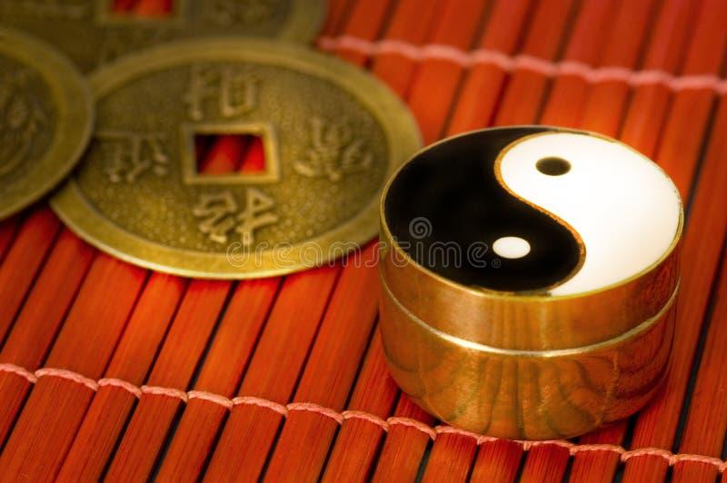 Yin-yang imagen de archivo