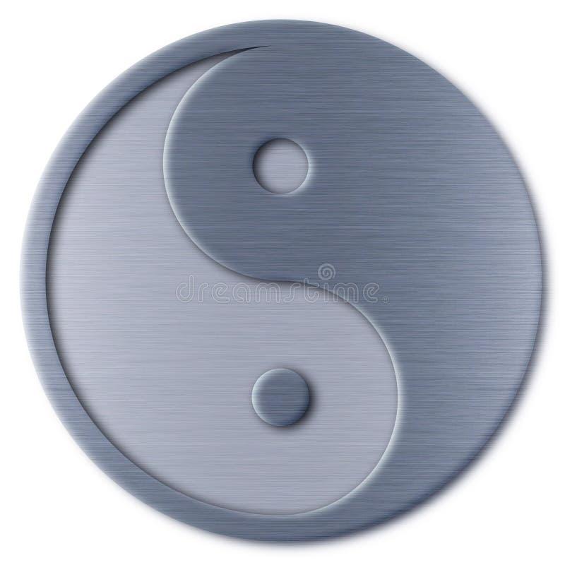 Yin Yang royalty-vrije illustratie