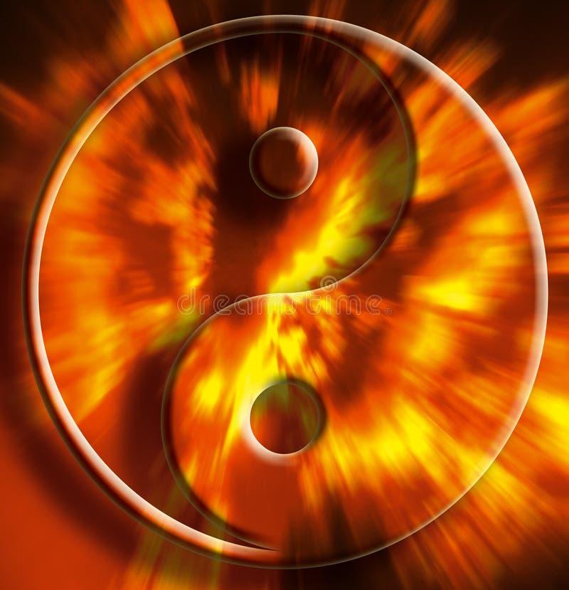 Yin yang vector illustration