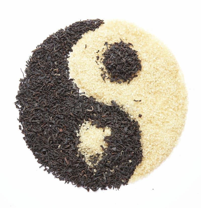 Yin Yang 5 stock afbeelding