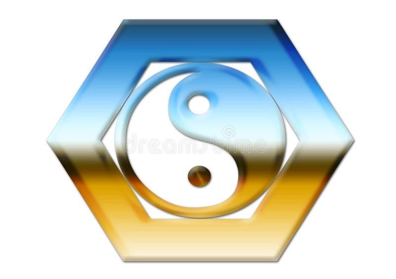 Yin & Yang Immagini Stock