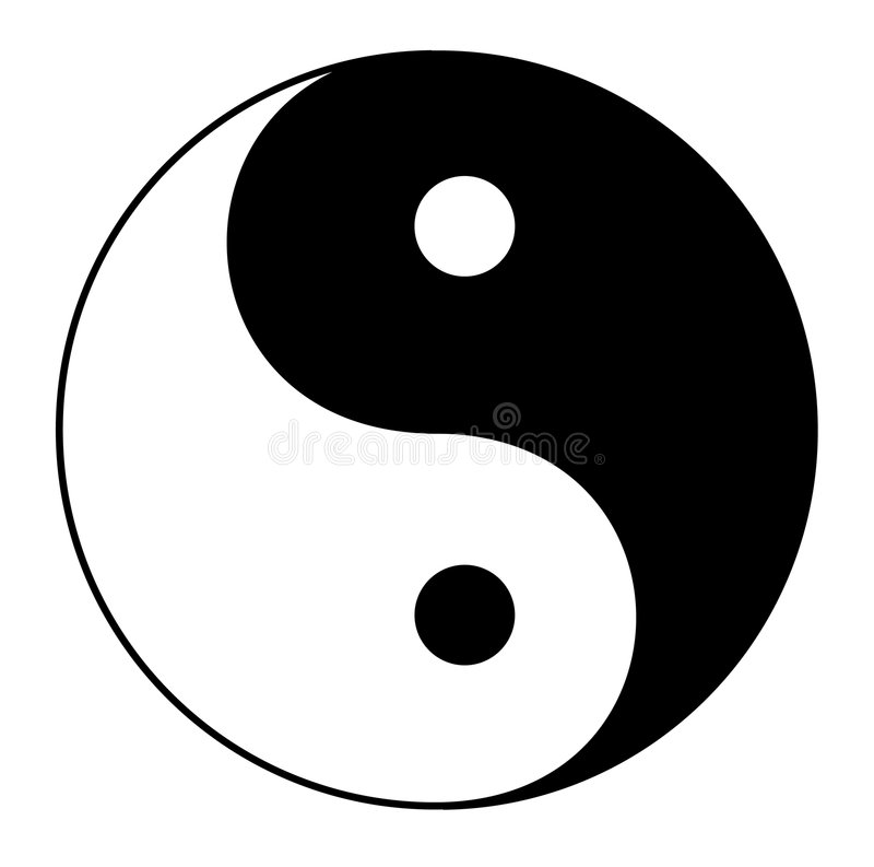Yin Yang libre illustration