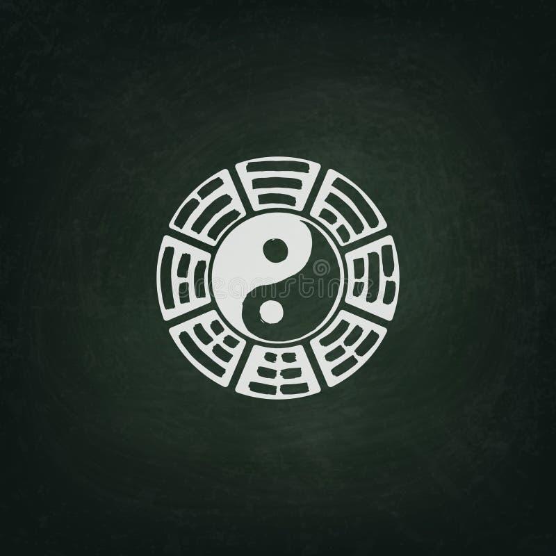 Yin Yang illustration libre de droits