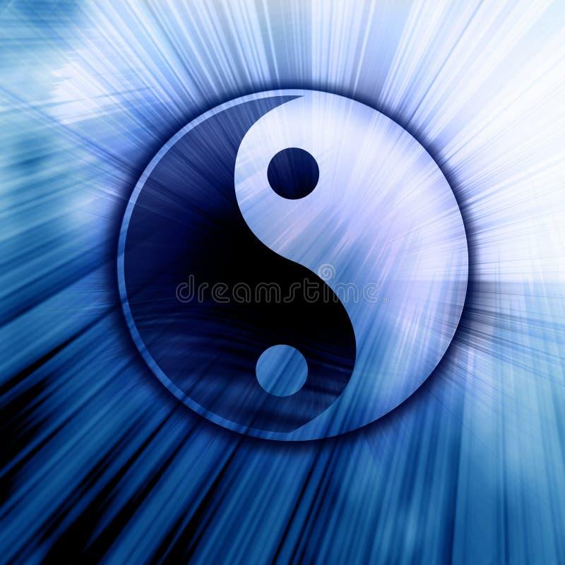 Yin Yang stock abbildung