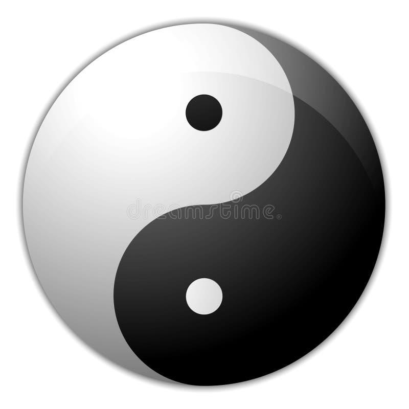 Yin Yang immagine stock
