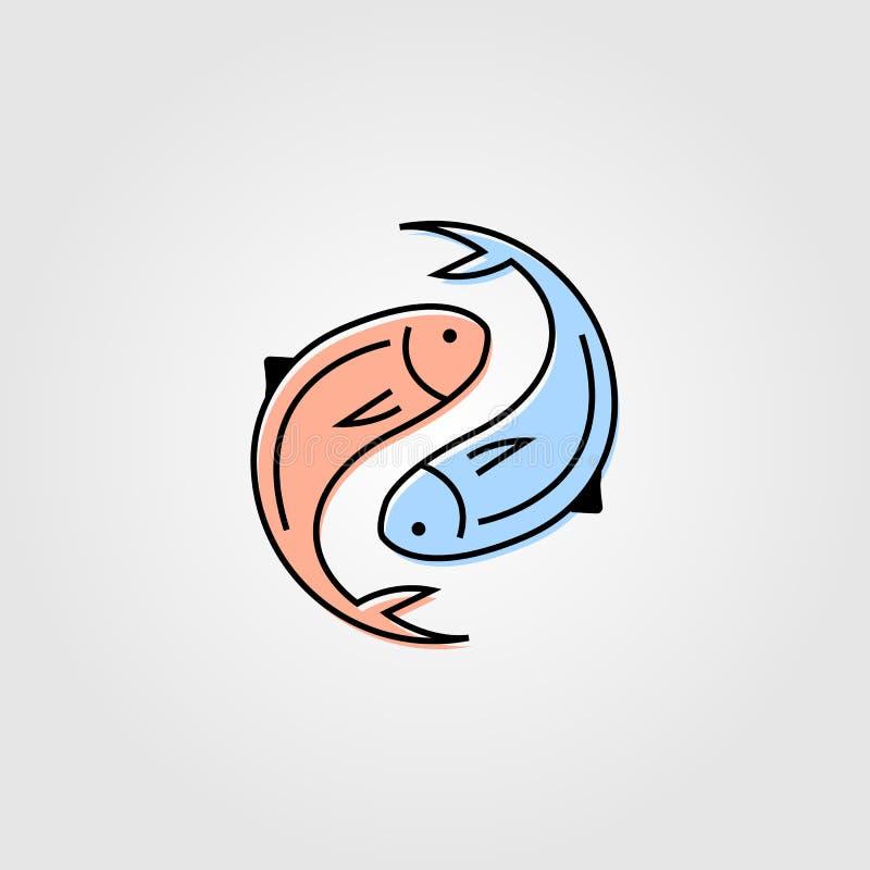 Yin Yang Fish Stock Illustrations 636 Yin Yang Fish Stock Illustrations Vectors Clipart Dreamstime