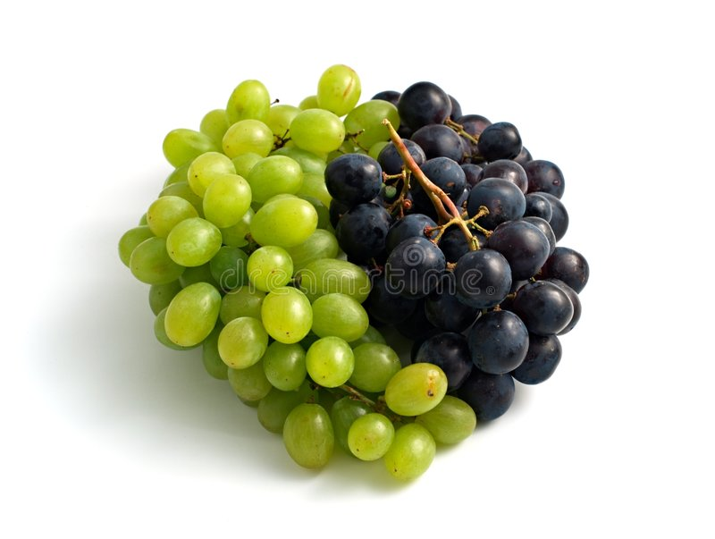 Yin-yang Fruity imagem de stock royalty free