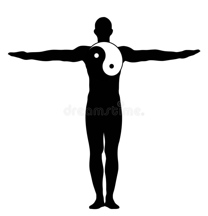 Download Yin yang men stock vector. Image of energy, people, power - 10835047