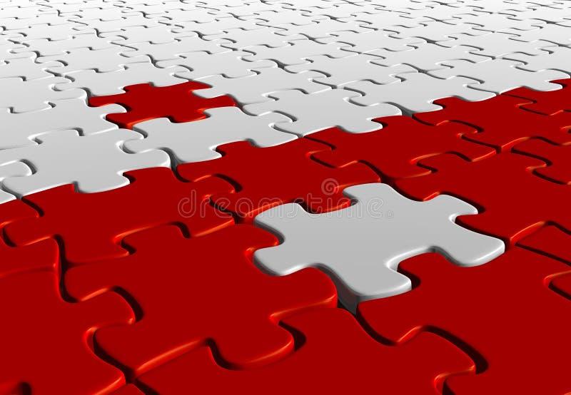 Yin Yang Puzzlespiel vektor abbildung