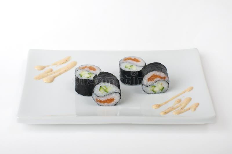 Yin Yang Roll stock photo