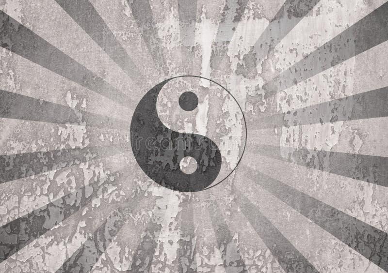 Yin Yang Symbol stockfoto