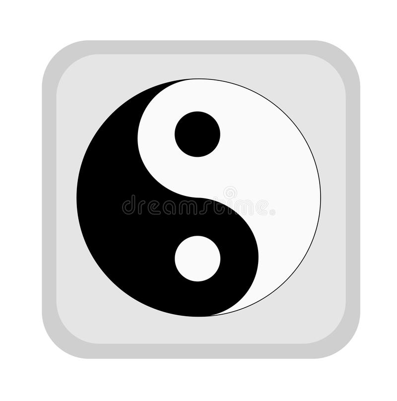 Download Yin yang symbol. stock illustration. Image of chinese - 36919469