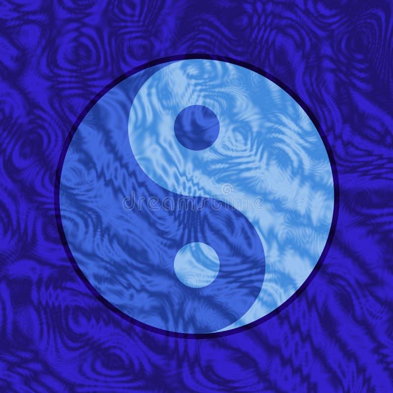 Download Yin Yang Underwater stock illustration. Illustration of china - 8854527