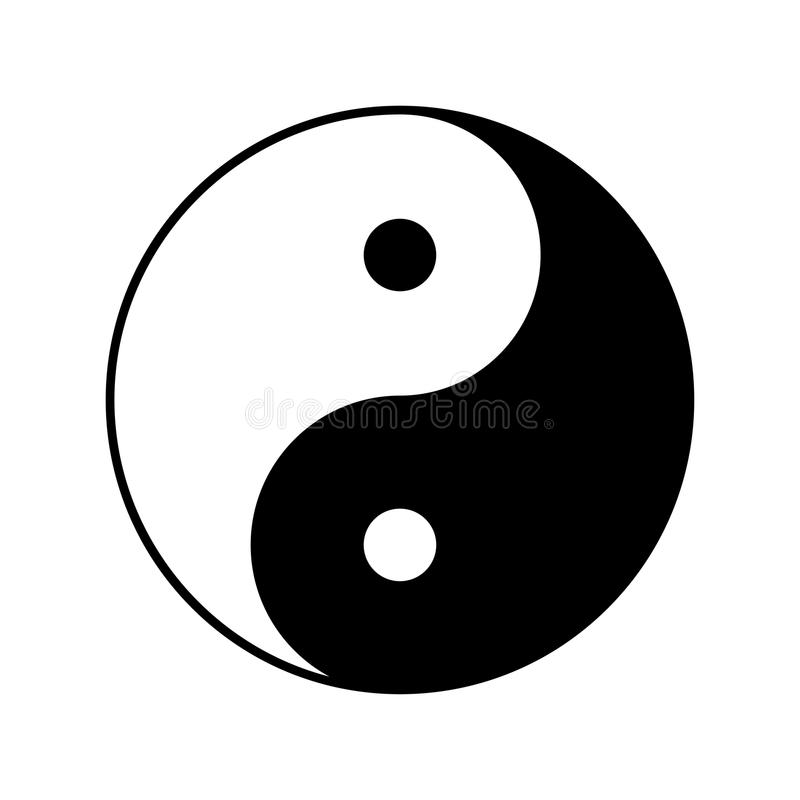 yin yang vector symbol icon design stock vector illustration of rh dreamstime com yin yang vector eps yin yang vector free illustrator