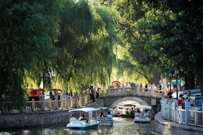 Yinding桥梁,北京 免版税库存照片