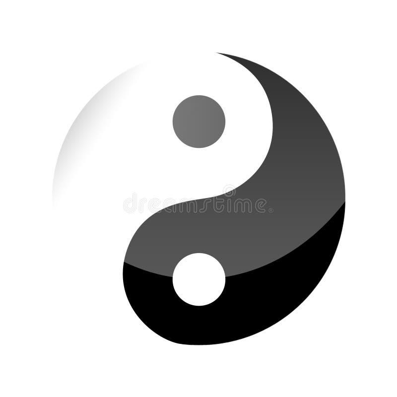 Ying e Yang imagem de stock royalty free