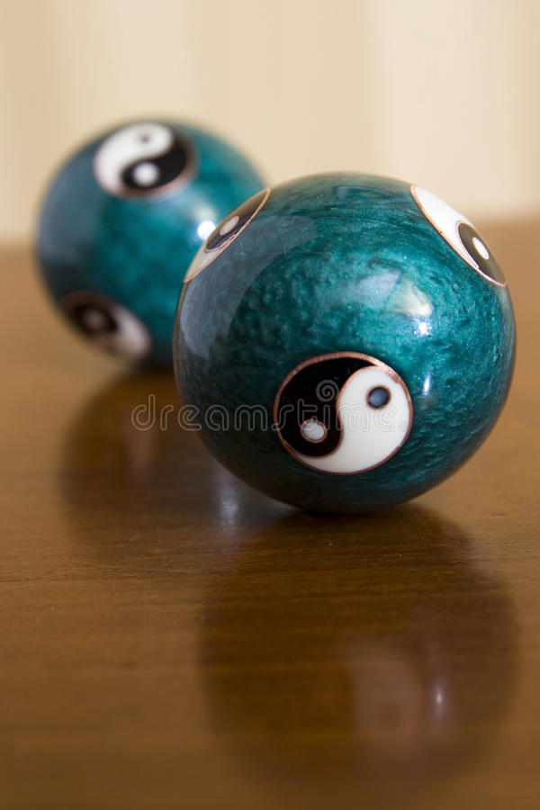 Ying and Yang. The Taijitu, a symbol of Taoist philosophy representing the balance of power between opposites royalty free stock image