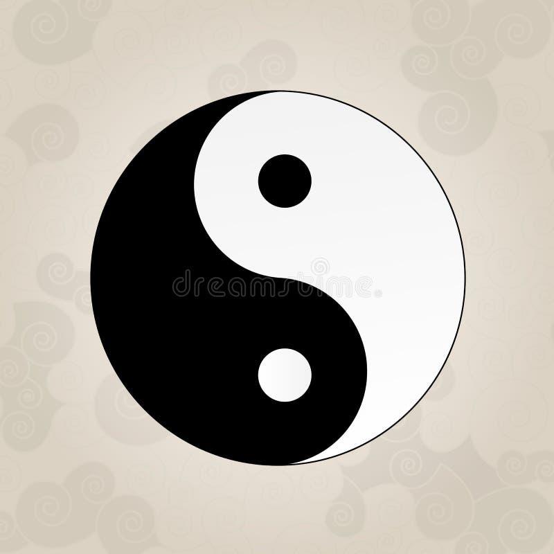 ying yang tatouage de japonais illustration de vecteur illustration du noir taoism 37126095. Black Bedroom Furniture Sets. Home Design Ideas