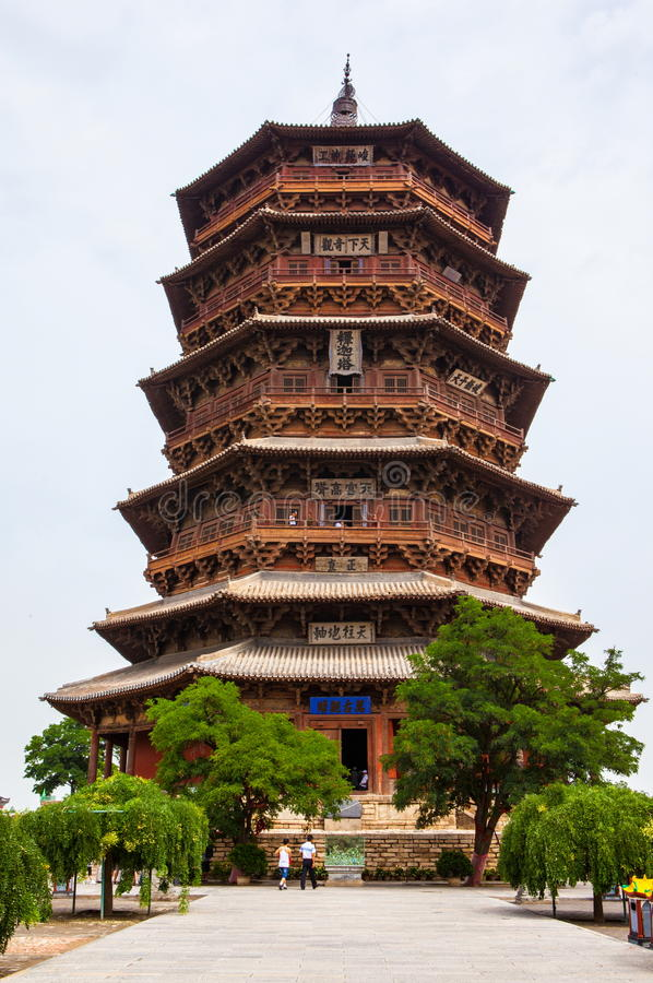 Yingxian Wonderful Pagoda.