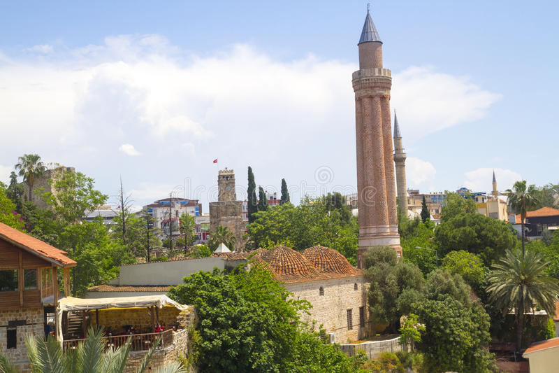 Yivli minare清真寺 库存照片